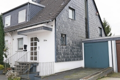 Haus Seitenansicht