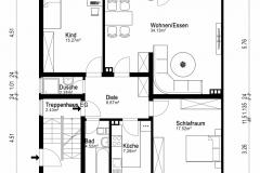 Grundriss Wohnung EG