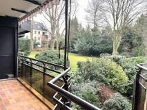 Balkon Blick Garten