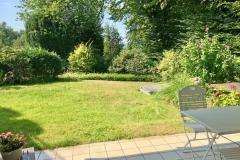 Terrasse Blick Garten