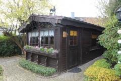 Blockhaus Garten