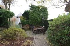Garten-Grillplatz