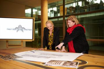 First Real Estate Partner: Sylvia Blume plant mit Architektin Dagmar Tauch